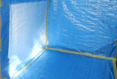 新型コロナ消毒(除菌)作業前のクリーンスペースの確保