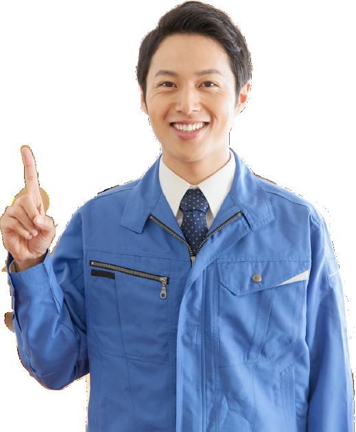福岡市のシロアリ・羽アリ駆除専門業者スタッフ