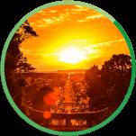 宗像のシンボル宮地嶽神社