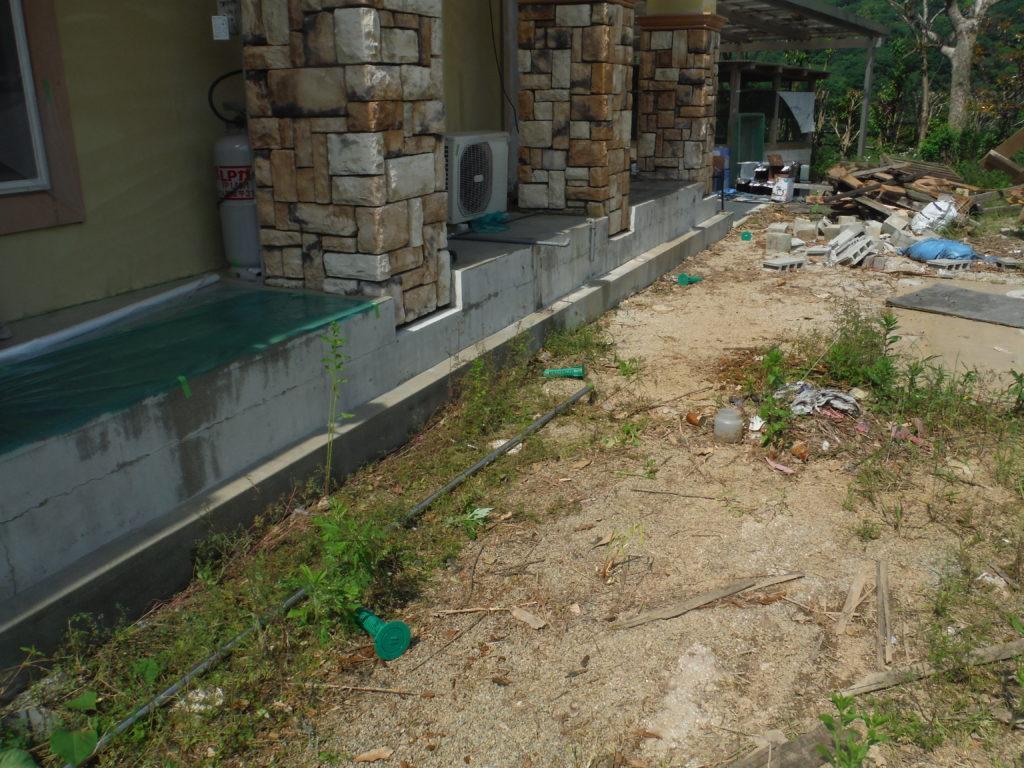 学校施設のシロアリ予防工事 | 嘉麻市