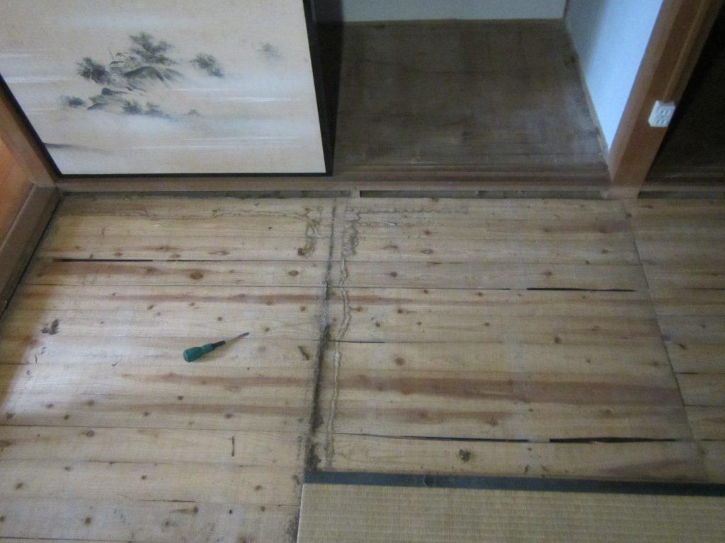 飯塚市での中古住宅のシロアリ調査