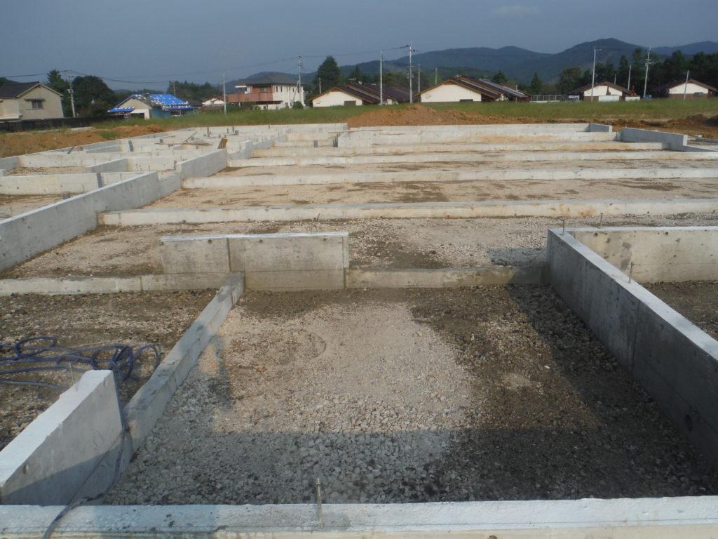 田川郡赤池町新築シロアリ予防 土壌処理