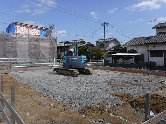 遠賀郡新築シロアリ予防消毒土壌処理1