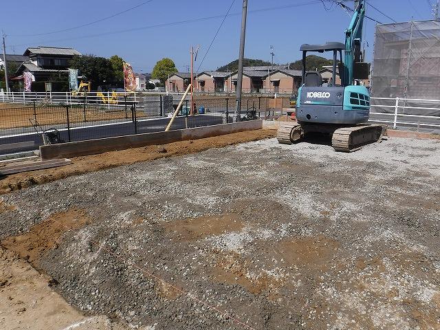 遠賀郡新築シロアリ予防消毒土壌処理3