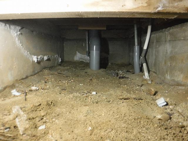 シロアリ調査床下湿気対策工事01
