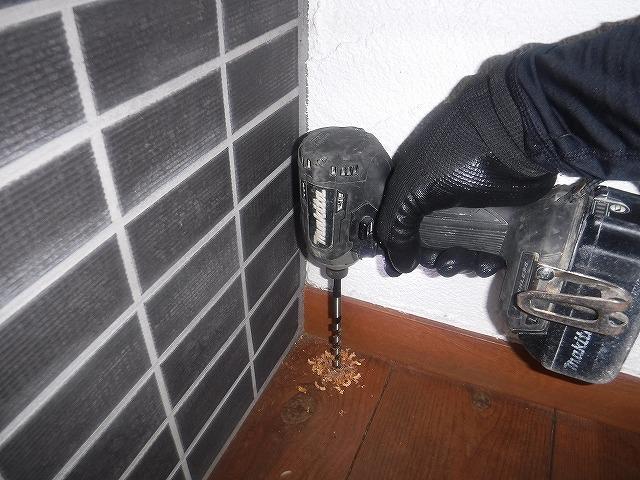 福岡市床のシロアリ被害